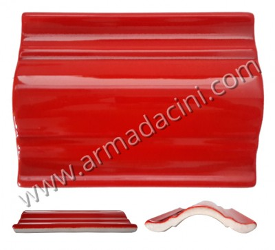 14x20 Kırmızı Dış Bükey Sütunce