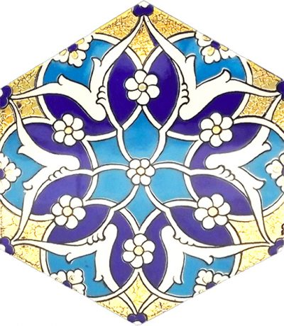 rumi hexagon decoration
