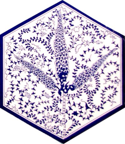turkısh bath mosque decoration tiles hexagon