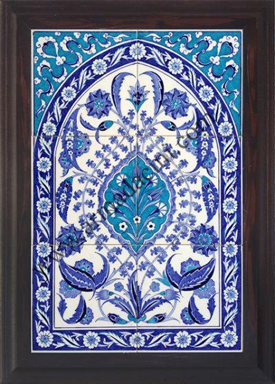 Türk hamamı çinili panolar örnekleri
