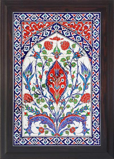 Çini pano dekorasyon örnekleri