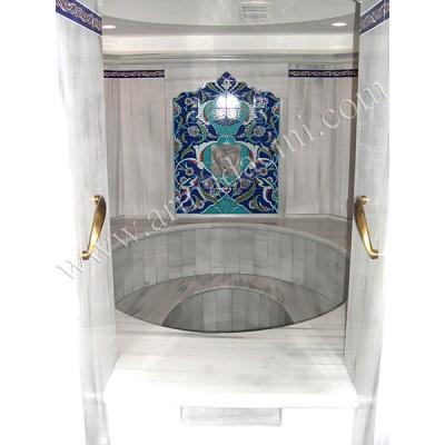 80x105 Aslanlı Rumi Türk Hamamı