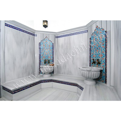 80x160 Klasik Rumi Türk Hamamı