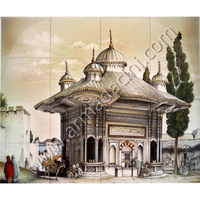 120x100 Sultan Ahmet Çeşmesi