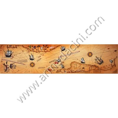 280x70 Piri Reis Harita