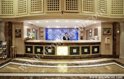 Otel Resepsiyon Tasarımı-Hayat Ağacı
