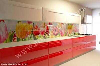 Ofis-Ev-Villa Mutfak Alnı Tasarımı (Laleler)
