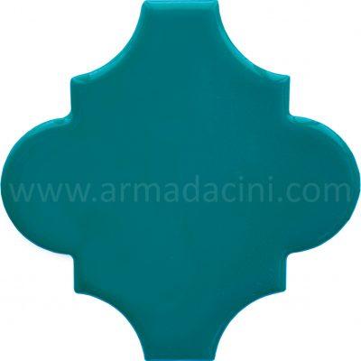 turkuaz modeli şekilli porselen seramik çini karo