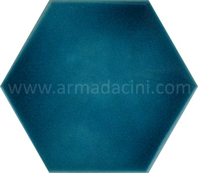 Porcelain ceramic tiles hexagon