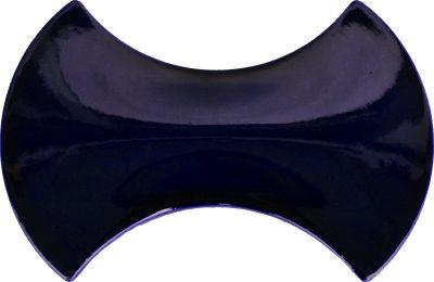 modern çini seramik kobalt papyon şekilli