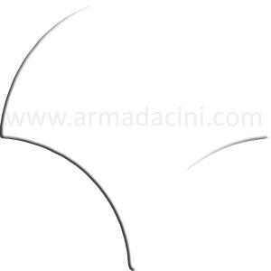 kütahya iznik beyaz çini balık pulu örneği