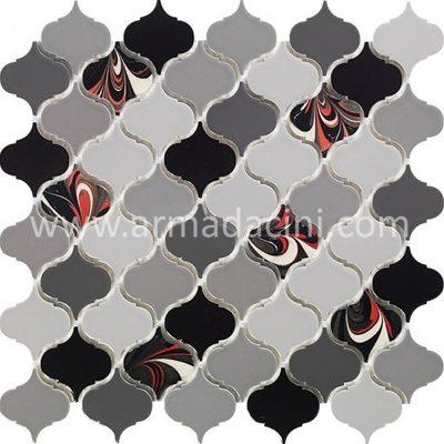 Ebru sanatı arabesk fileli mozaik seramik porselen çini örnekleri