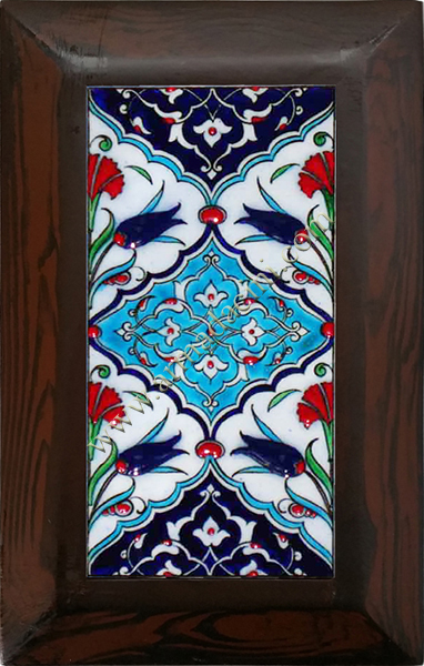 10x20 Kütahya Ceramic Geometric Patterned Hand Decor 115 Ceramic Panel iznik ceramics handmade ceramic tile turkish ceramic art patterns ottoman motifs turkish bath ceramic panel bathroom kitchen ceramics ceramic hotel home mosque metro decoration mosque masjid hand made interior ceramic tiles decoration turkish bath bathroom prices