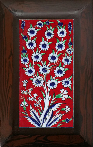 10x20 Kütahya Ceramic Red Tree of Life Hand Decor 117 Ceramic Panel iznik ceramics handmade ceramic tile Turkish ceramic art patterns ottoman motifs turkish bath ceramic panel bathroom kitchen ceramics ceramic hotel home mosque metro decoration mosque masjid hand made interior ceramic tiles decoration turkısh bath bathroom prices