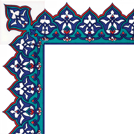 Kütahya china, iznik china, Mosque tiles, Patterned ceramic tile, Turkish bath, maroc, arabic geometric tiles, 10x20 KS-13 Iznik Pattern Cini Bordur prices examples