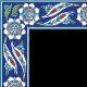 Hancer Desenli Çini Bordür