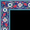 10x20 KS-43 Karanfilli Cini Seramik Bordur