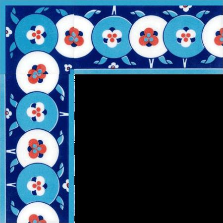 10x20 KS-66 Cini Desenli Cintemani Bordur