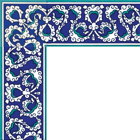 Kütahya ceramics, iznik tile, Mosque tiles, Patterned ceramic tiles, Turkish bath, maroc, arabic geometric tiles, Rumi Pattern Cini Bordur prices samples