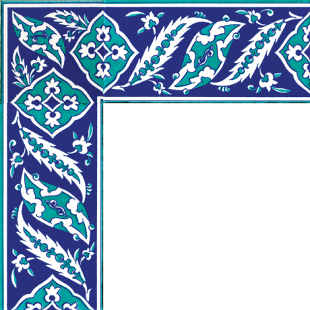 Kütahya tiles, iznik tiles, mosque tiles, patterned ceramic tiles, Turkish bath, maroc, arabic geometric tiles, Rumi Cini motif