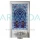 80x120 622 Kobalt Hayat Ağacı Desenli Çini Türk Hamamı