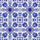 AC-10 Selcuk Blue Cicek Patterned Cini Tile, Kütahya tiles, iznik, Mosque tiles, Turkish bath, maroc, arabic mosque decoration, tiles, prices, samples
