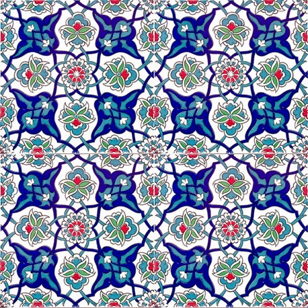 AC-27 Rumi Patterned Cini Karo, Kütahya tile, iznik, Mosque tiles, ceramic, Turkish bath, maroc, arabic interior Turkish tiles, prices, examples