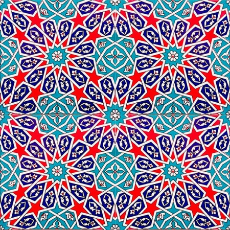 AC-28 Geometric Cini Patterned Tile, Kütahya tiles, iznik, Mosque tiles, ceramic, Turkish bath, maroc, arabic interior Turkish tiles, prices, examples