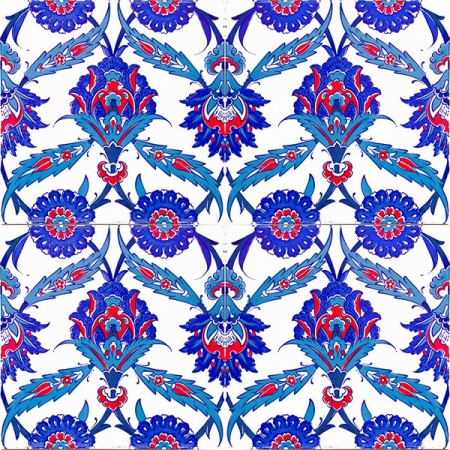 AC-30 Kutahya Pattern Ceramic Tiles, Kütahya tiles, iznik, Mosque tiles, ceramics, Turkish bath, maroc, arabic interior Turkish tiles, prices, examples