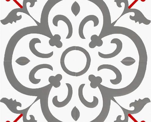 20x20 SP-18 Modern Maroc Desenli Cini Karo Kütahya ve İznik çinileri cami otel türk hamamı banyo mutfak seramik dekorasyon örnekleri interior tile