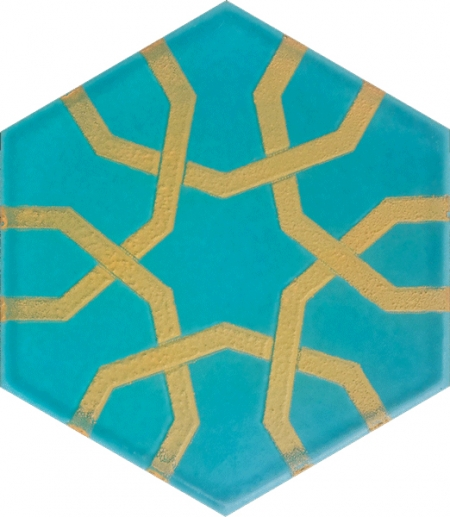AL-10 Metallic Hexagon Ceramic Tile, Turkish Ceramics, Turkish Ceramic Models Patterns Turkish bath, mosque, Bathroom hotel decoration, prices hexagon tile decorations, example