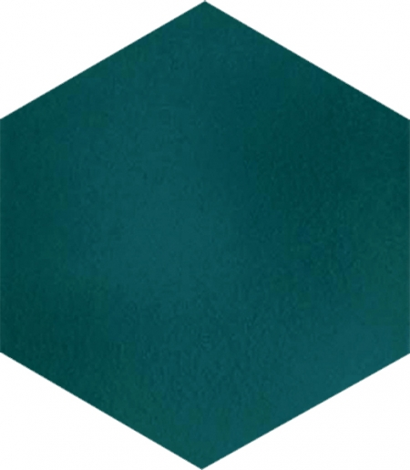 AL-13 Green Hexagon Ceramic Tile, Turkish bath, mosque, Bathroom hotel decoration, prices hexagon tile decorations, example