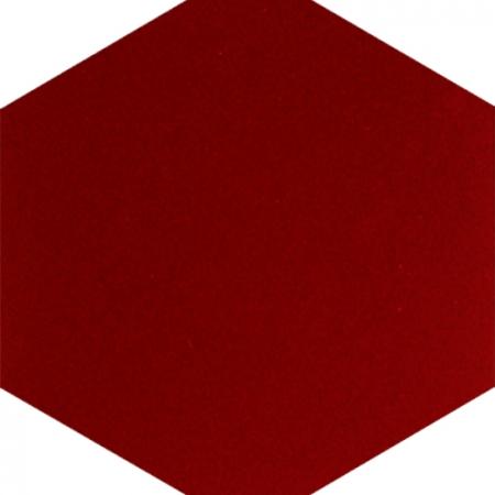 AL-16 Red Hexagon Ceramic Tile, Kutahya Ceramic, Turkish Ceramics, Turkish bath, mosque, Bathroom hotel decoration, prices hexagon tile decoration sample