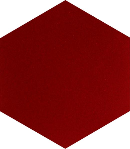 AL-16 Kırmızı Altıgen Cini Seramik Karo, Kutahya çinisi, İznik çinileri, Türk hamamı, mosque, Banyo otel dekorasyon, fiyatları hexagon tile decoration örnek