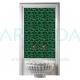 20x20 Zümrüt Yeşil Selçuk Yıldızı Seramik Rölyefli Çini Karo