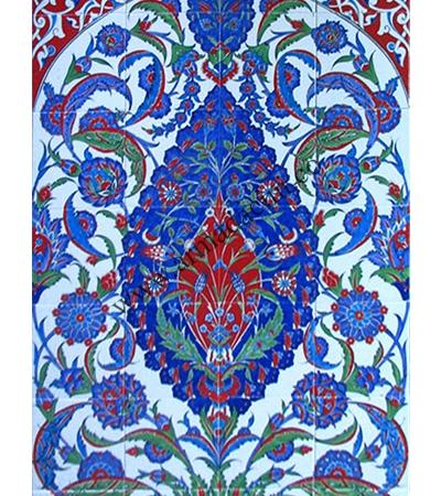 80x140 Kutahya Mavi Gobekli Cini Desenli El isi 780 Pano iznik çinileri el yapımı çini karo türk çini sanatı desenleri osmanlı motifleri türk hamamı çini pano banyo mutfak çiniler seramik otel ev cami metro dekorasyon mosque masjid hand made interior ceramic tiles decoration turkısh bath bathroom fiyatları satıcıları