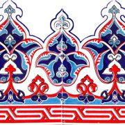 TAÇ-1001 Klasik Osmanlı Deseni Cini Karo