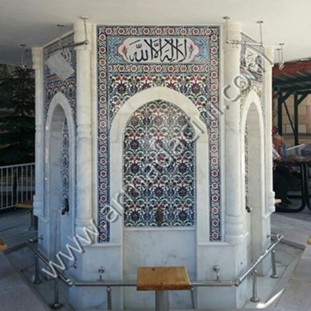 Cami Şadırvan Modeli Cini Kaplama Ornekleri