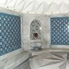 Kütahya tile, iznik tile, Mosque tiles, Patterned ceramic, Porcelain tile, Turkish bath, maroc, arabic tiles, AC-52 Geometric Patterned Tile Tile prices, examples