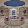 AC 6 Osmanlı Hamamı Selçuklu modeli Çini Kurna arkası