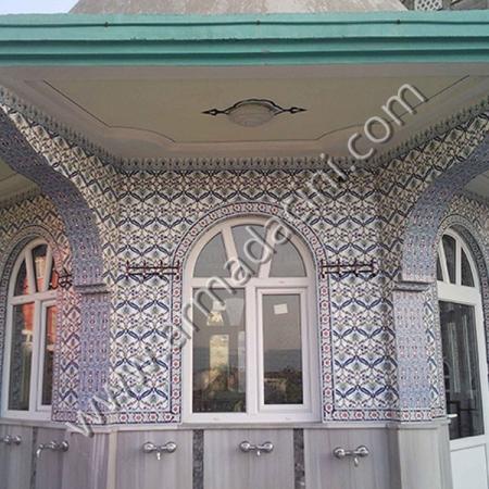 Cami Kubbeli Şadırvan Modeli Cini Motifleri