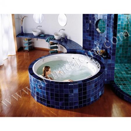 Villa Banyo Dekorasyonu El Dekoru Çini Pano Kütahya Çini Örneği Kütahya ve iznik çinileri türk hamamı çini pano seramik dekorasyon hand made interior tile
