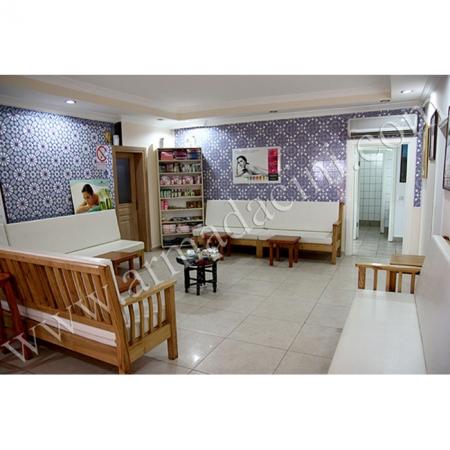 Otel Spa Duvar Dekorasyonu Dinlenme Odası Kütahya ve iznik çinileri türk hamamı çini pano seramik dekorasyon hand made interior tile