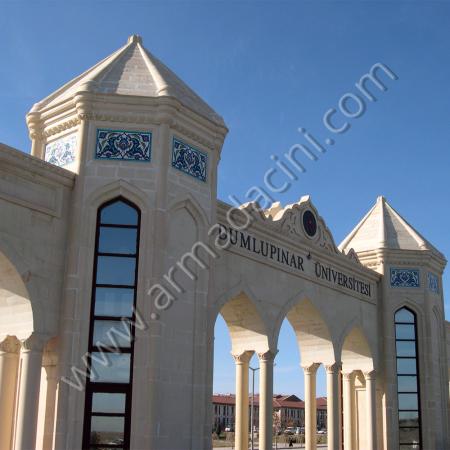 Dumlupınar Üniversitesi Giriş Kapısı Çini Pano Uygulaması
