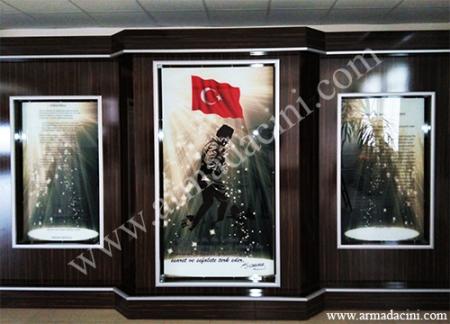 Dijital Cam Baskı veya Seramik Baskı Ataturk Kosesi, Dijital cam baskı, Dijital yer ve duvar porselen seramik karo baskı örnekleri fiyatları ve çeşitleri Osmanlı kadınları hamam cariye resimleri çini pano örnekleri, Ortaköy camii, Sultanahmet cami, Topkapı sarayı özel üretim seramikler cam lazer baskı
