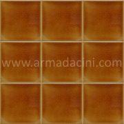 10x10 PD-140 Karamel Porselen Cini Karo, Kütahya porselen seramik iznik çini banyo mutfak tezgah otel türk hamamı dekorasyon örnekleri, fiyatları