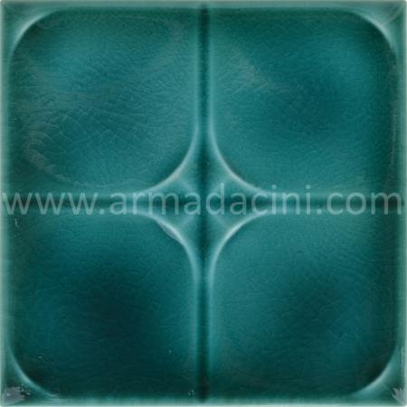 13x13 PR-215 Fıruze Rolyefli Porselen Cini Kargo, Kütahya porselen seramik iznik çini banyo mutfak tezgah otel türk hamamı dekorasyon örnekleri, fiyatları