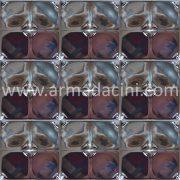 13x13 PR-255 Gumus Rolyefli Porselen Cını Karo, Kütahya porselen seramik iznik çini banyo mutfak tezgah otel türk hamamı dekorasyon örnekleri, fiyatları