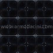 13x13 PR-Siyah Rolyefli Porselen Cini Karo, Kütahya porselen seramik iznik çini banyo mutfak tezgah arası otel türk hamamı dekorasyon örnekleri, fiyatları