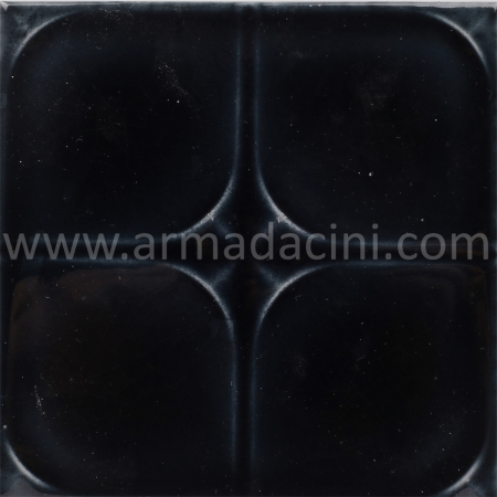 13x13 PR-Siyah Rolyefli Porselen Cini Karo, Kütahya porselen seramik iznik çini banyo mutfak tezgah otel türk hamamı dekorasyon örnekleri, fiyatları